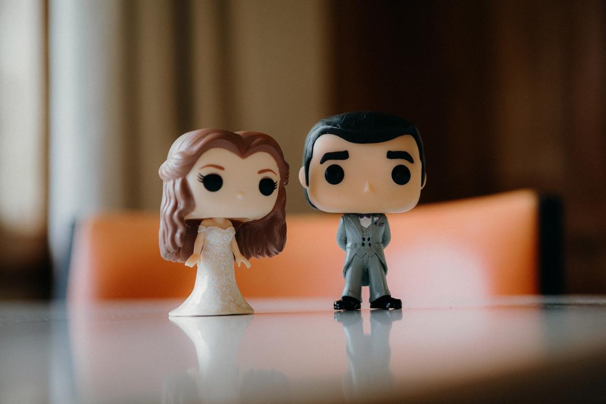 rotorua wedding photo anime cartoon figurines