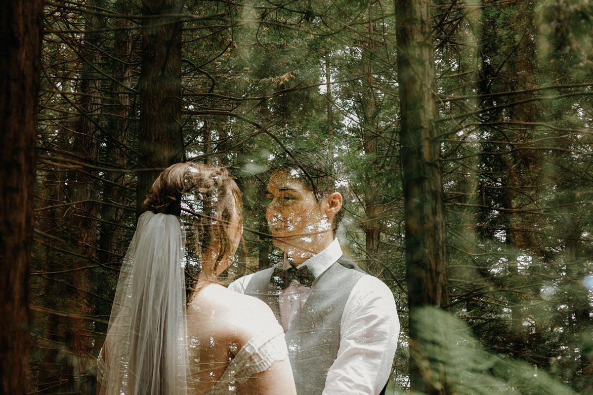 redwoods wedding photos rotorua double exposure