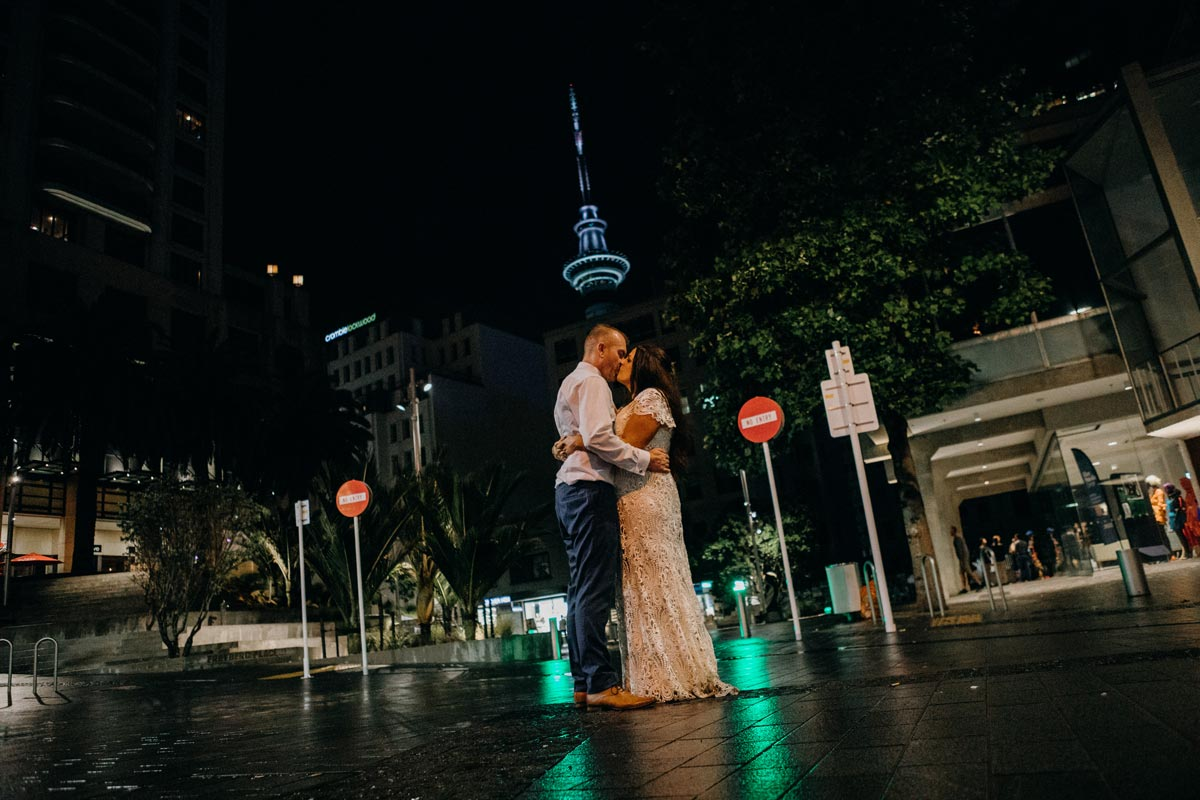 Chancery Chambers Wedding Auckland CBD law society building wedding reception sky tower sarah weber photography