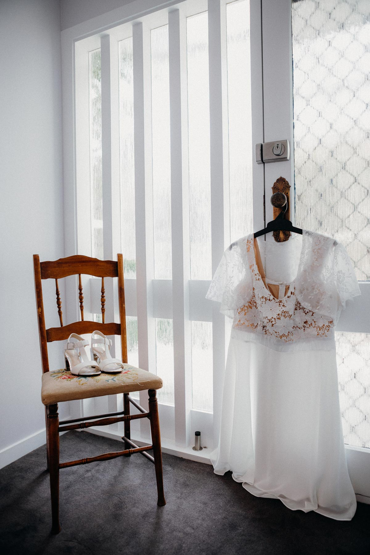 Markovina wedding dress photo Vineyard Estate sarah weber photography