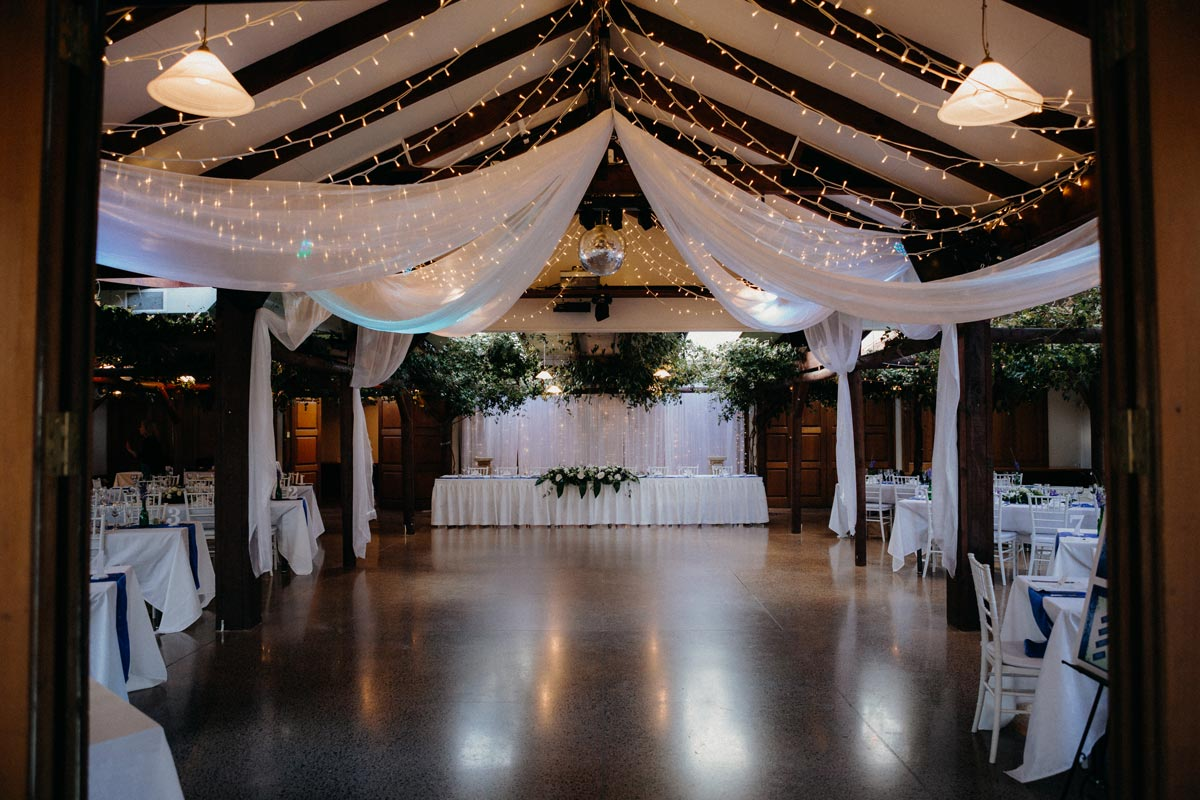 Markovina wedding reception photo Vineyard Estate sarah weber photography
