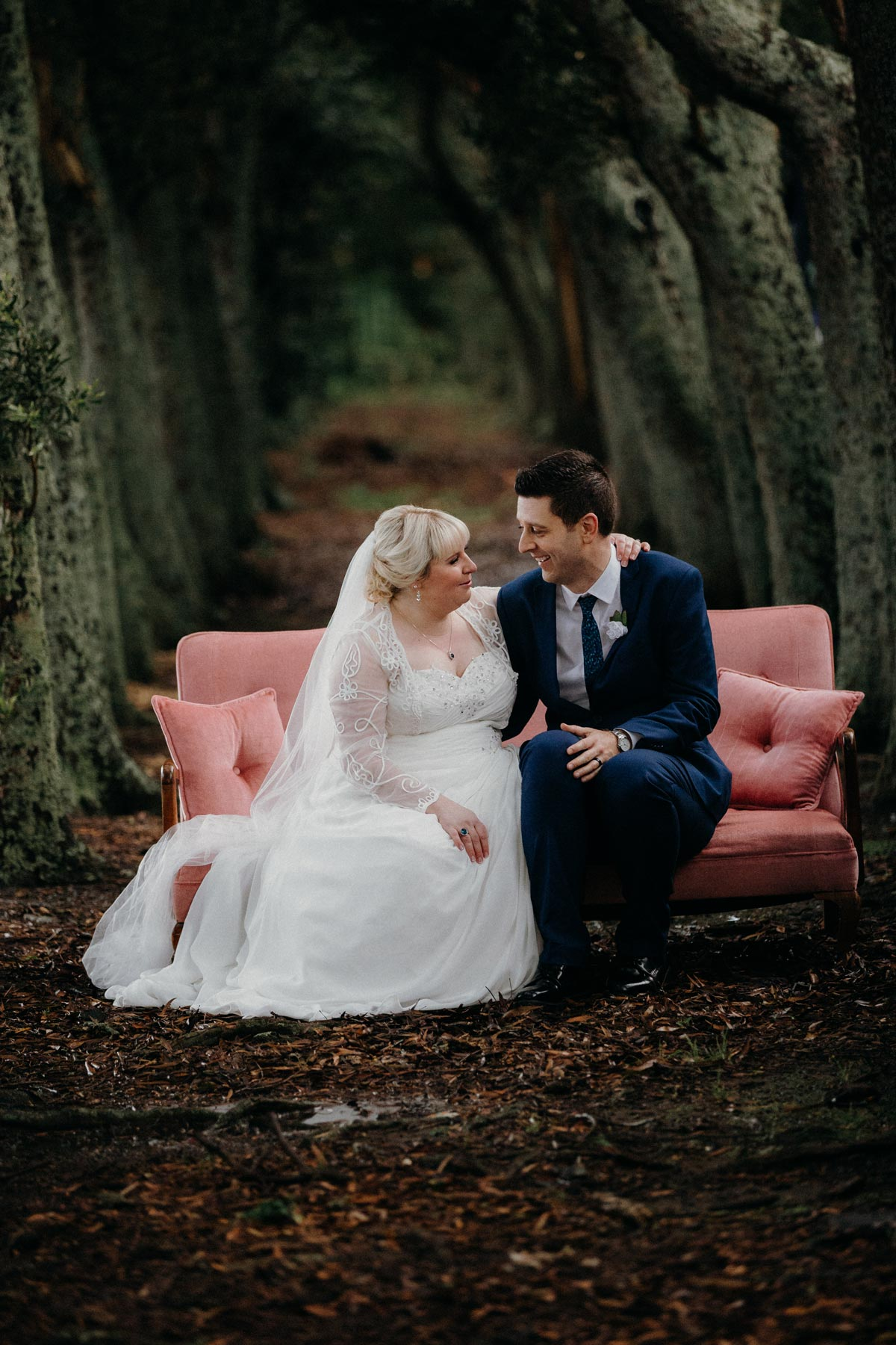 Markovina wedding photo ideas trees Vineyard Estate sarah weber photography