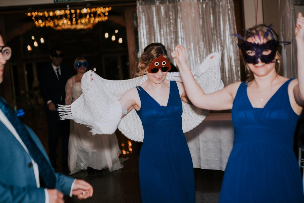 Markovina Vineyard Estate wedding photo dance recption entry sarah weber photography