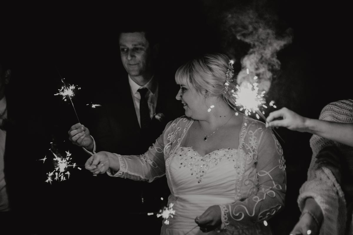 Markovina wedding photos sparkler night photography Vineyard Estate sarah weber photography