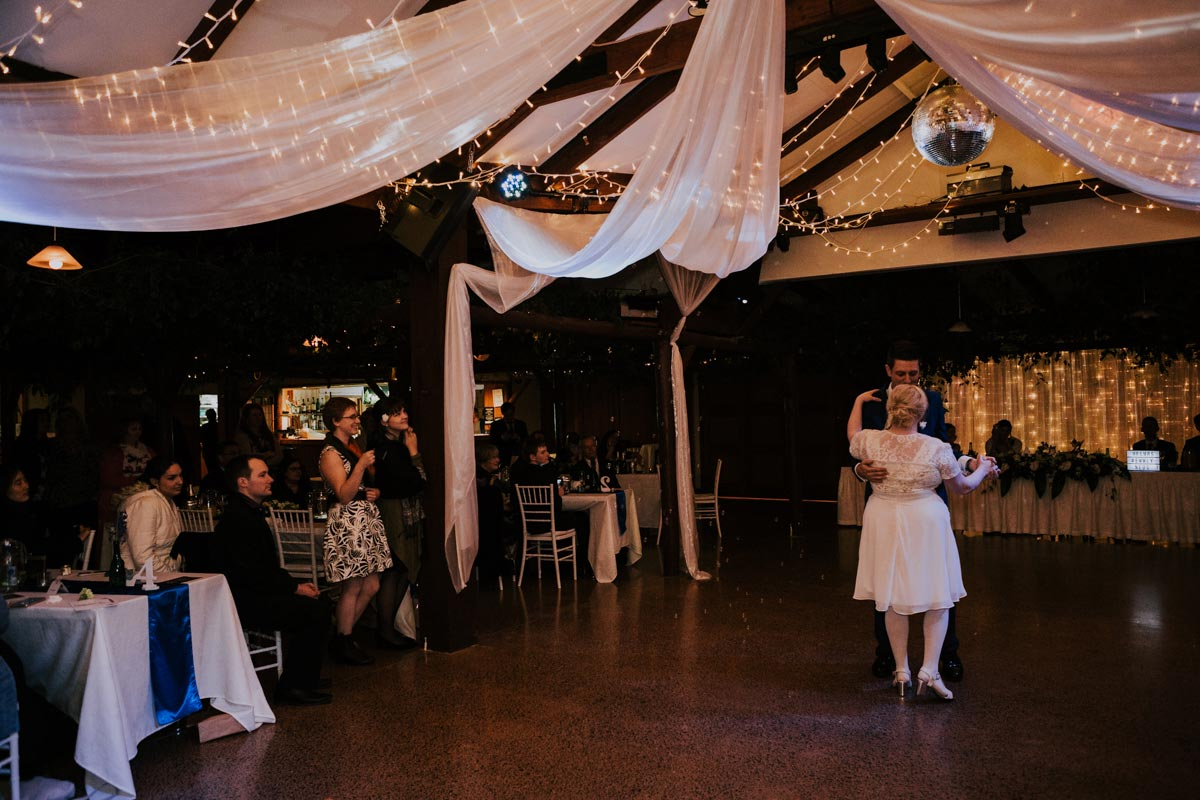 Markovina wedding photo first dance Vineyard Estate sarah weber photography