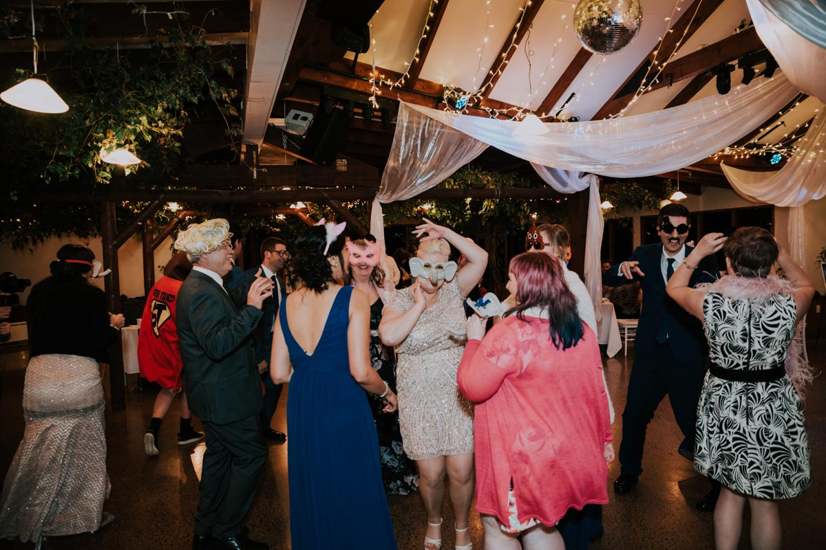 Markovina wedding dancing photos Vineyard Estate sarah weber photography