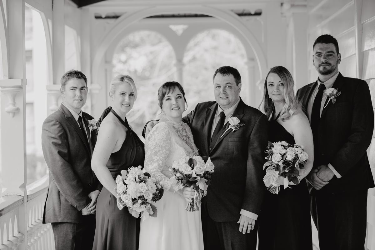alberton auckland wedding photos bridal party sarah weber photography