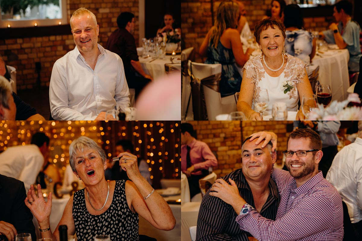 carringtons pumphouse wedding guests auckland sarah weber photography