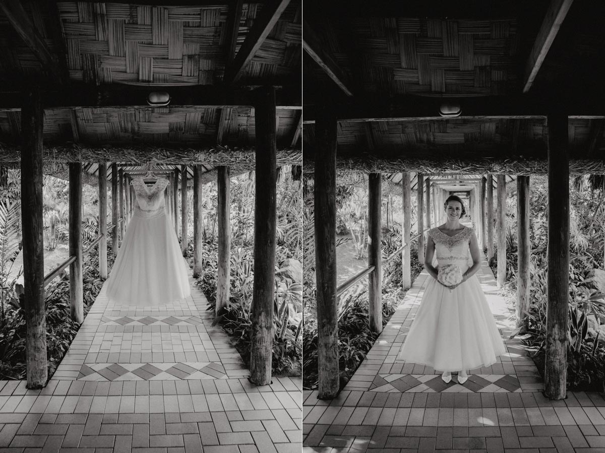 Fiji Outrigger wedding dress photo ideas Beach Resort Coral Coast Sarah Weber photography