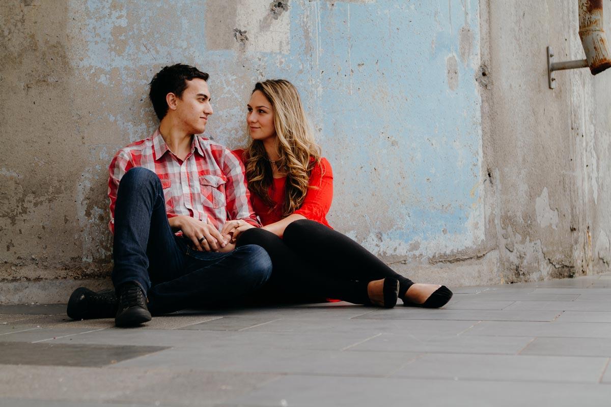 Engagement Photos Wynyard Quarter Auckland by sarah weber photography