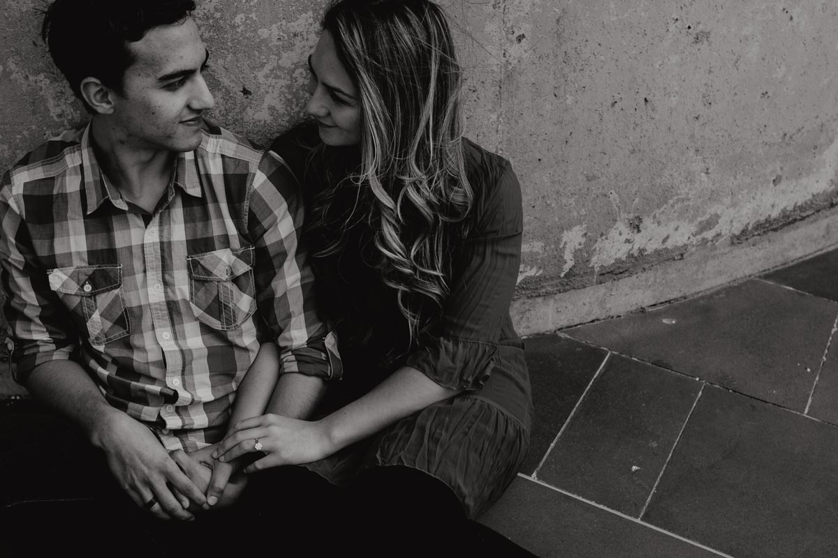 Engagement Photos Wynyard Quarter Auckland by sarah weber photography