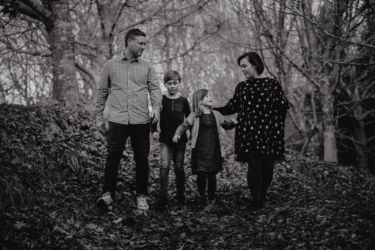 family lifestyle autumn portrait photo sessions in Rotorua by sarah weber photography
