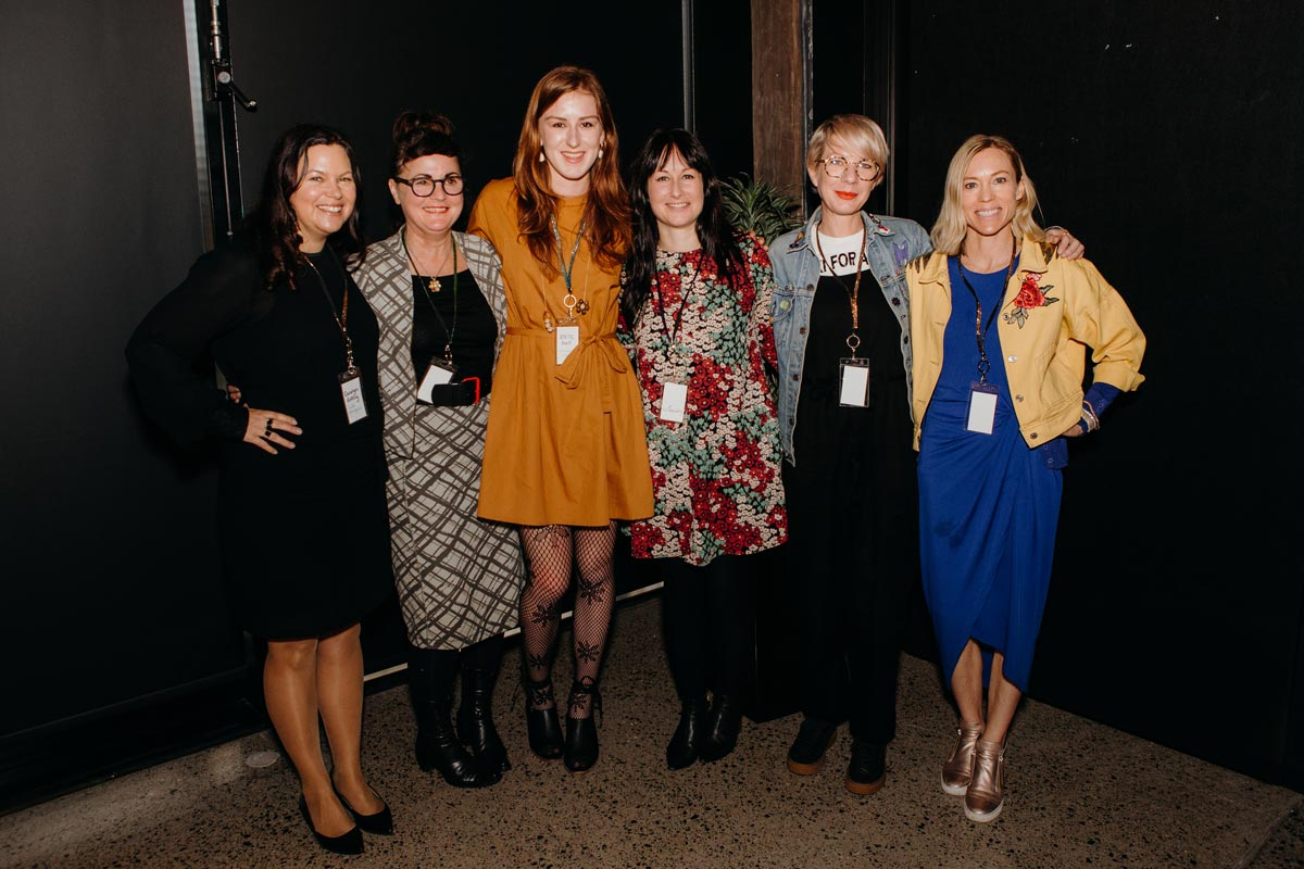 Carolyn Enting; Editor of Good Magazine. Kate Hall; Sustainable Living & Ethical Fashion Blogger at Ethically Kate. Kerith McKenzie-Brown; Founder of Oki For All. Laurie Foon; Central Coordinator for Sustainable Business Network. Amy Conlon; Founder of Outliv