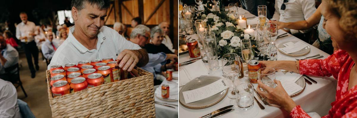 wedding reception photos at the stables matakana by sarah weber photography
